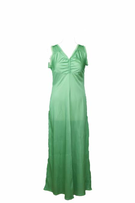 vintage female green nightgowns   1970s